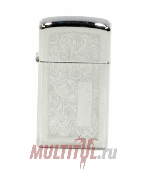 Зажигалка Zippo Slim 1652 Venetian High Polish Chrome | Артикул: 1652
