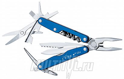 Мультитул Leatherman Juice CS4 Glacier | Артикул: Juice CS4 Glacier