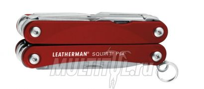 Мультитул Leatherman Squirt PS4 Red | Артикул: Squirt PS4 red