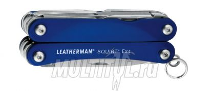 Мультитул Leatherman Squirt ES4 Blue | Артикул: Squirt ES4 Blue