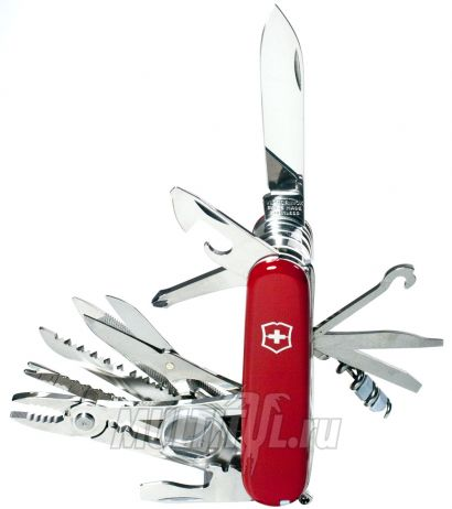 Victorinox Swiss Champ красный