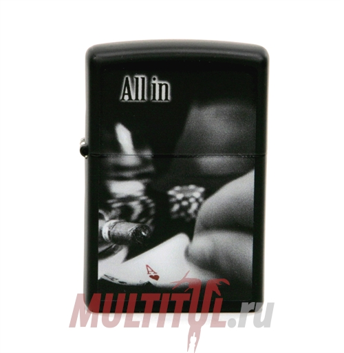 Zippo 218 All In All — Бензиновая зажигалка Zippo 218 ALL IN ALL