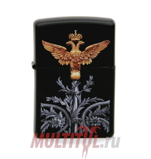 Zippo 218 Russian Coat Of Arms — Бензиновая зажигалка Zippo 218 RUSSIAN COAT OF ARMS