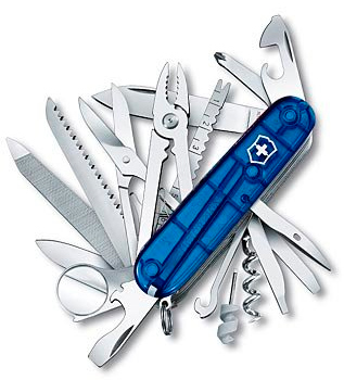 Victorinox Swiss Champ синий
