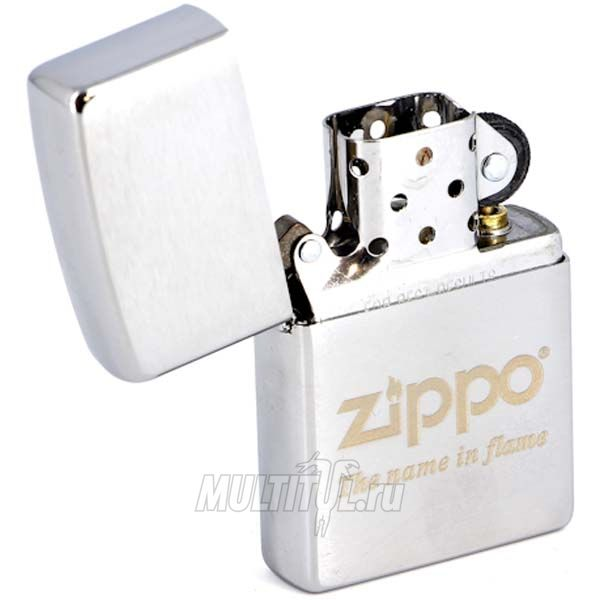 Zippo 200 Name in flame — Бензиновая зажигалка Zippo 200 Name in flame