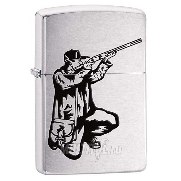 Zippo 200 Vector Rifle And Hunt — Бензиновая зажигалка Zippo 200 VECTOR RIFLE AND HUNT
